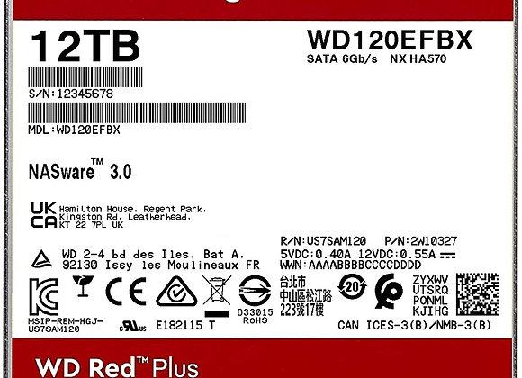 Western Digital HD WD120EFBX 12TB 3.5 SATA WD Red Plus