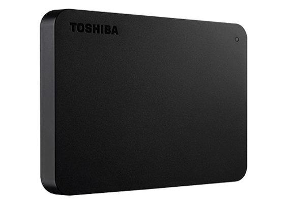 Toshiba 1TB USB 3.0 Canvio Basics Portable Hard Drive Black Bare