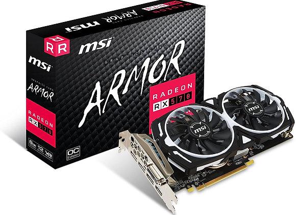 MSI Gaming Radeon RX 570 256-bit 8GB GDRR5 DirectX 12 VR Ready CFX Graphcis Card
