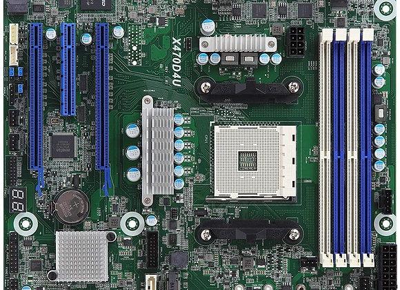 ASRock Motherboard X470D4U AMD AM4 X470 Maximum 64GB DDR4 PCIE mATX Brown Box