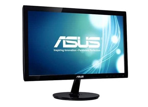"""Asus LCD LED Backlight 19.5"""" Wide 5ms 80000000:1 1600x900 DVI-D/VGA Speaker"""