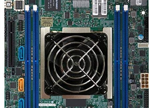 Supermicro MBD-X11SDV-8C+-TLN2F-O Xeon D-2141I 256GB DDR4 PCI Express Mini-ITX