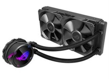 ASUS Fan AIO liquid CPU cooler color OLED Aura Sync RGB 120mm Retail
