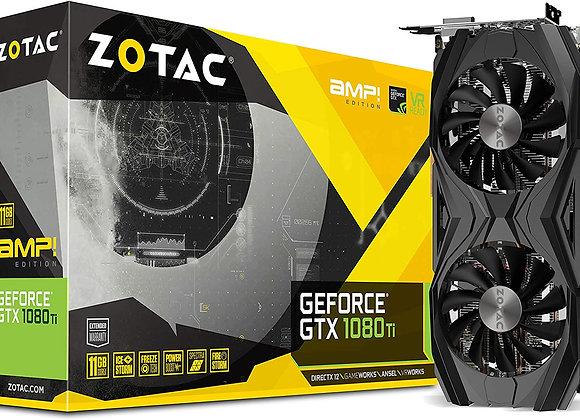ZOTAC GTX 1080 Ti AMP Edition 11GB GDDR5X 352-bit PCIe 3.0 Gaming Graphics Card