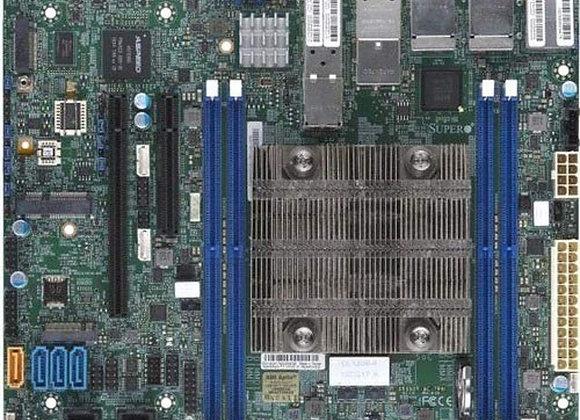 Supermicro X11SDV-4C-TP8F-O Xeon D-2123IT 4 Cores/8 Threads 256GB PCIE Flex ATX