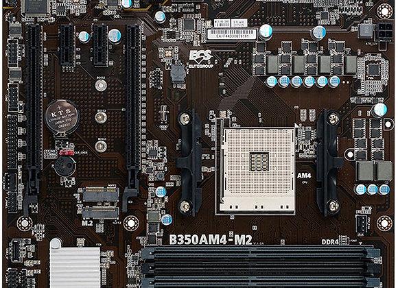 Elitegroup Computer Motherboard 89-206-MC3110 AMD AM4 B350 DDR4 PCI Express