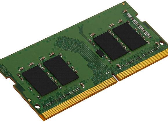 Kingston Memory KVR26S19S6/8 8GB 2666MHz DDR4 Non-ECC CL19 SODIMM 1Rx16