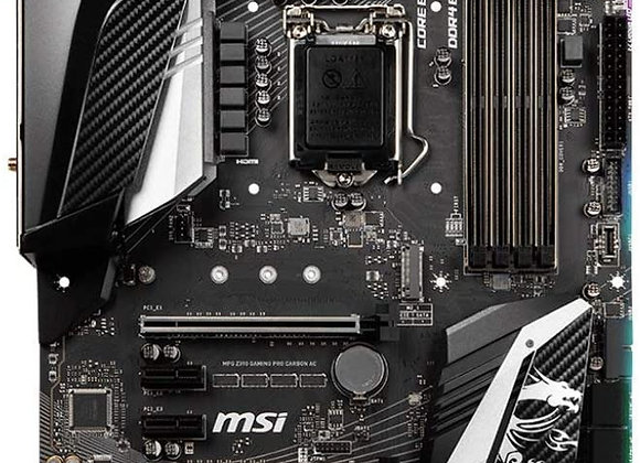MSI MPG Intel Z390 Gaming Pro Carbon AC ATX DDR4-SDRAM Motherboard
