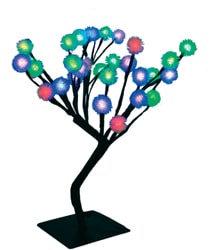 Светодиодное дерево с RGB подсветкой, высота 40 см