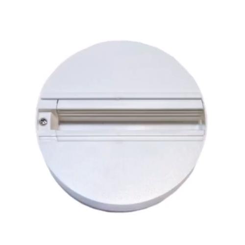 Накладка круглая для трехфазных трековых светильников белая