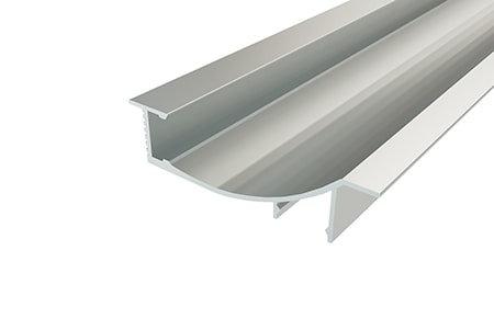 Профиль встраиваемый декоративный PVD-7016-2 Anod для светодиодной ленты