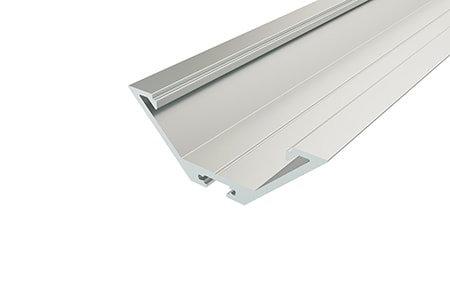 Профиль угловой алюминиевый LPU-2364-2 Anod для светодиодной ленты