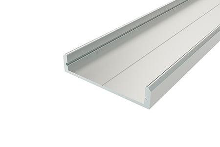 Профиль накладной алюминиевый LP-0733-2 Anod для светодиодной ленты