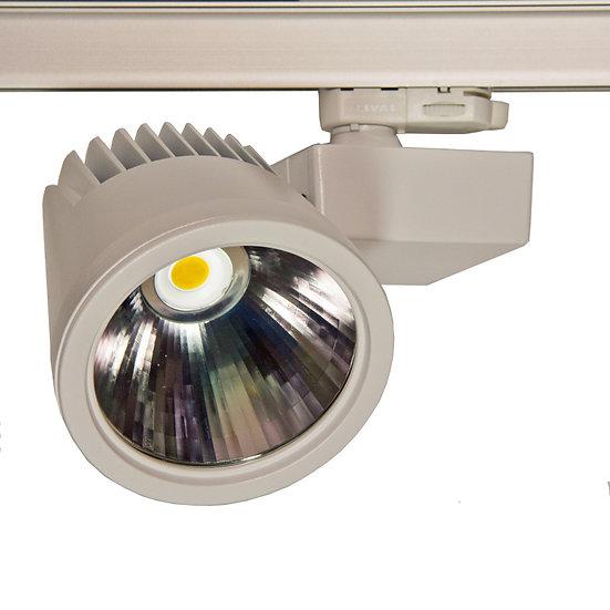 Трековый светильник Ray LED 43 W для освещения магазинов и офисов