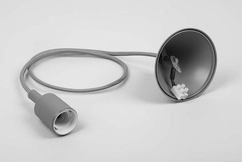 Патрон для ламп со шнуром 1м, 230V E27, LH127