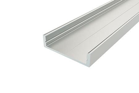 Профиль накладной алюминиевый LP-0728-2 Anod для светодиодной ленты