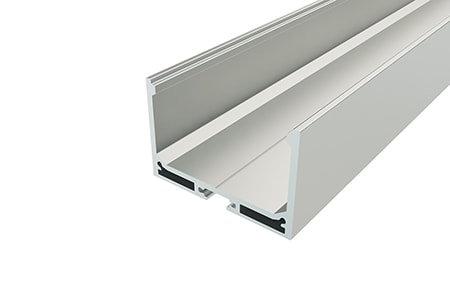 Профиль накладной алюминиевый LP-3250-2 для светодиодной ленты