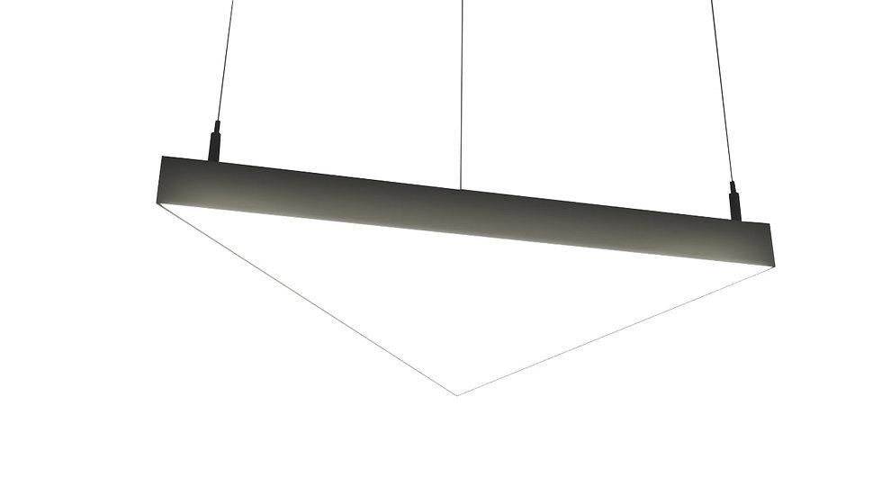 Светодиодный светильник TRIANGULA S от 24 W до 216 W