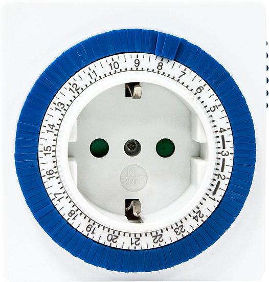 Розетка с таймером TM32/61923 суточная мощность 3500W/16A