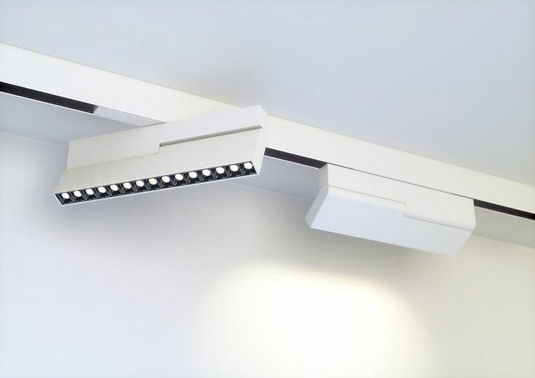 Светильник для магнитного шинопровода Mag.Pro.Focus.34 от 10 W до 30 W белый