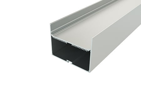 Профиль накладной алюминиевый LP-16700-2 Anod для светодиодной ленты