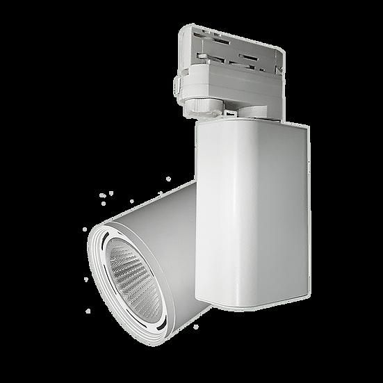 Трехфазный трековый светодиодный светильник AL Bellatrix 35 W / 42 W / 45 W для освещения магазинов трехфазный