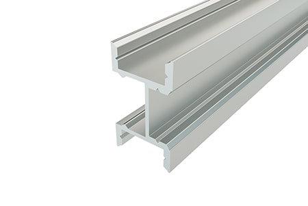 Профиль накладной алюминиевый LPF-2716-2 Anod для светодиодной ленты