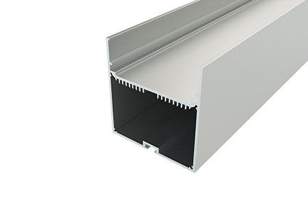 Профиль накладной алюминиевый LP-7774-2 Anod для светодиодной ленты