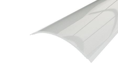 Рассеиватель матовый поликарбонат LRM-14-2 в профиль для светодиодной ленты