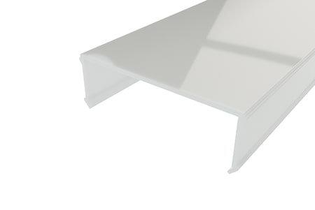 Рассеиватель матовый поликарбонат LRM-68-2 для профиля светодиодной ленты
