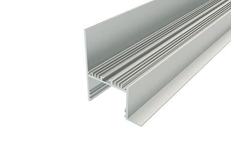 Профиль накладной алюминиевый NKU-7664-2 Anod для светодиодной ленты