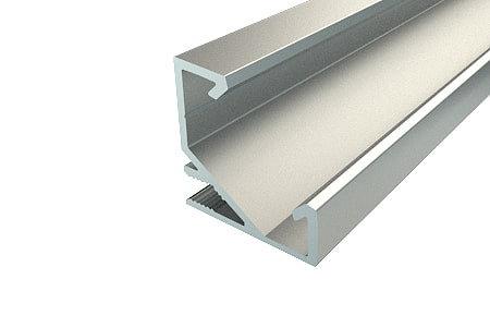 Профиль угловой алюминиевый LPU-1717-2 Anod для светодиодной ленты