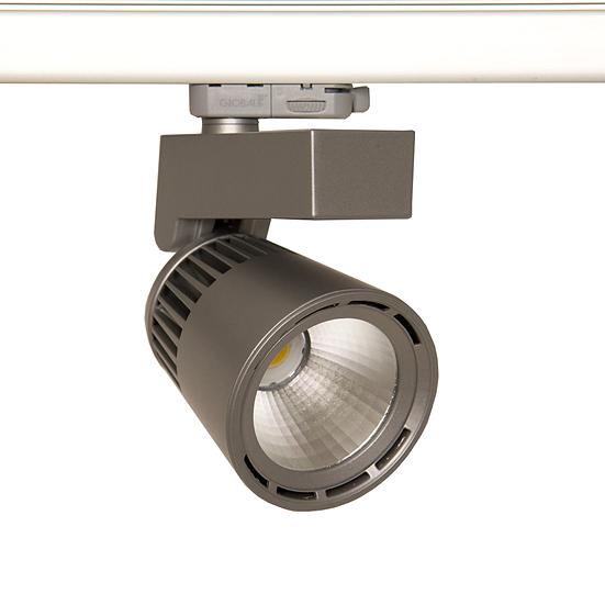 Трековый светильник Eco Clean LED 35 W для освещения магазинов, офисов,