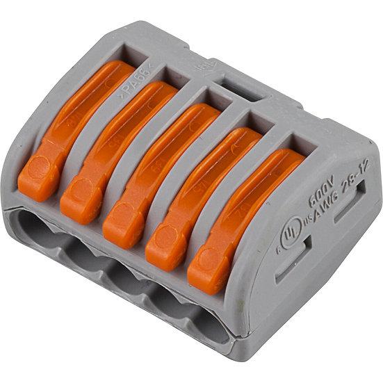 Cтроительно-монтажные клеммы WAGO 5-проводные
