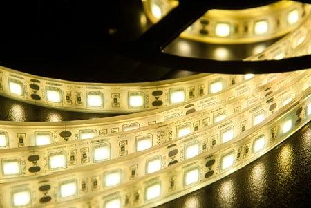 Светодиодная лента SMD 5050 IP68 60 LED 12 V Epoxy 3000К