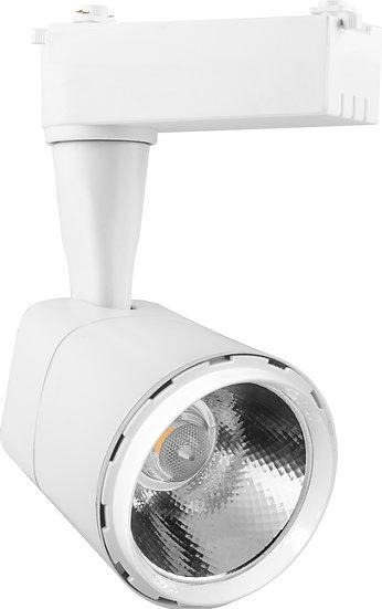Трековый светодиодный светильник AL 101 однофазный 8 W / 12 W