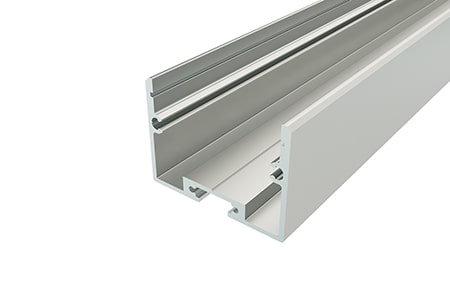 Профиль накладной алюминиевый LP-2534-2 Anod для светодиодной ленты