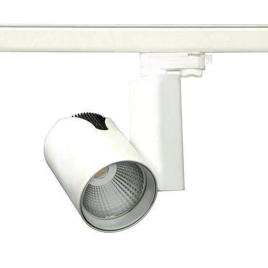 Трековый светильник Castor LED 30 W для освещения магазинов