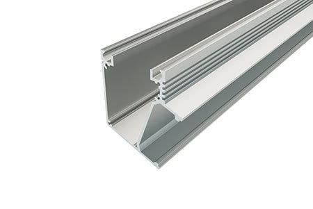 Профиль накладной алюминиевый LP-7363-2 Anod для светодиодной ленты