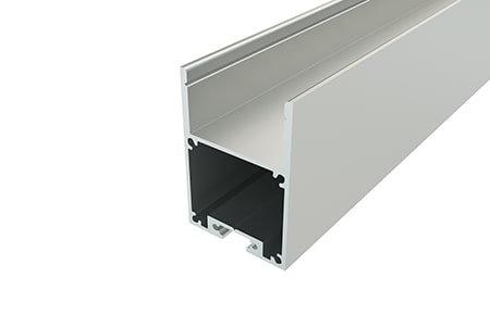 Профиль накладной алюминиевый LP-4028-2 Anod для светодиодной ленты