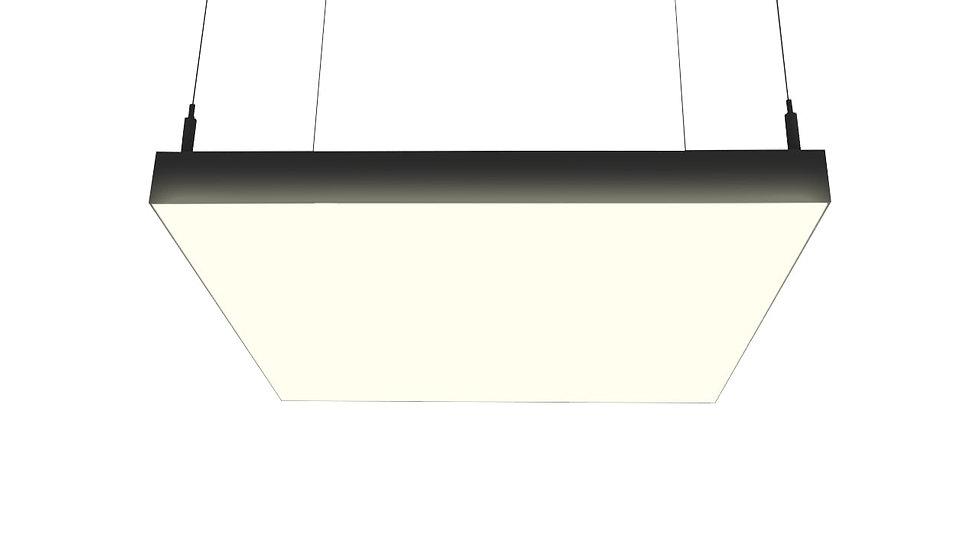 Светодиодный светильник QADRO S от 27 W  до 432 W подвесной или накладной
