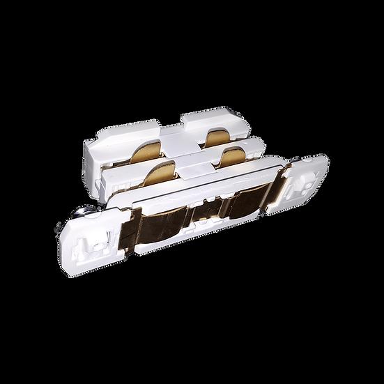 Внутренний стык для трехфазного трекового шинопровода белый