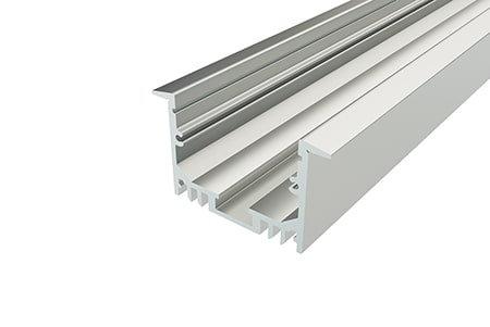 Профиль врезной алюминиевый LPV-2544-2 Anod для светодиодной ленты