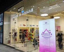 Освещение бутика Marc & André