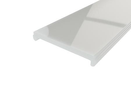 Рассеиватель матовый поликарбонат LRM-34-2 для профиля для светодиодных лент