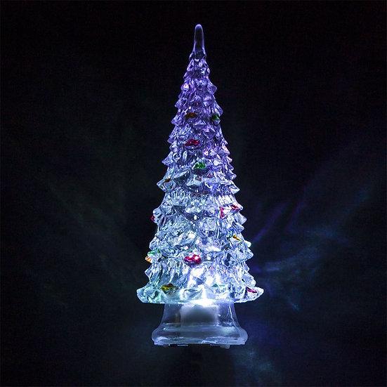 Декоративная фигура с подсветкой - елочка