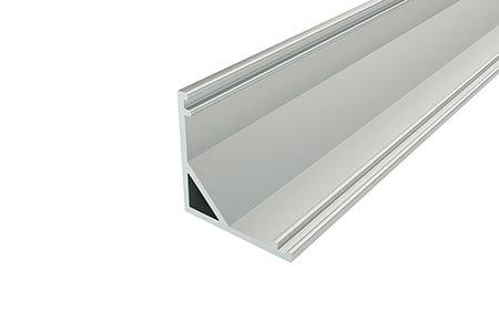 Профиль угловой алюминиевый LPU-1616-2 Anod для светодиодной ленты.