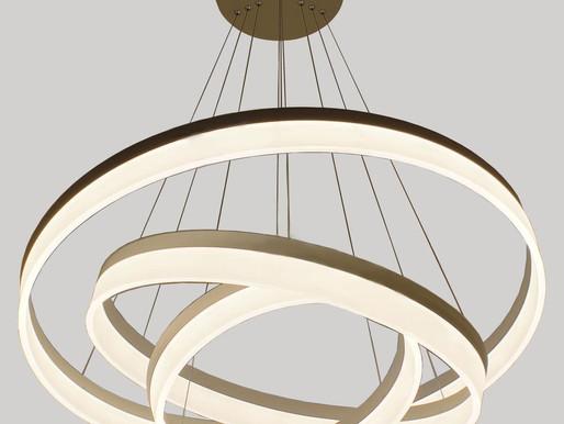 Интерьерные светильники и люстры - новый раздел каталога