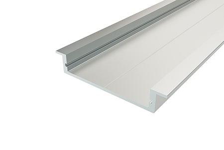 Профиль врезной алюминиевый LPV-0740-2 Anod для светодиодной ленты