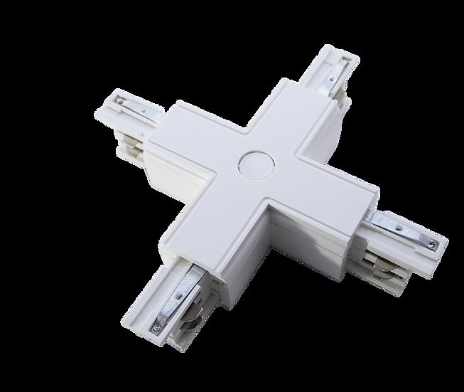 Х-соединение для трехфазного трекового шинопровода